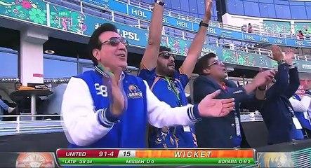 Match 6: Islamabad United vs Karachi Kings - Islamabad Wickets