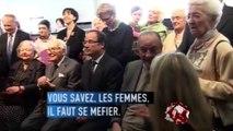 Sophie Dessus draguée par Jacques Chirac