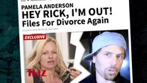 Pamela Anderson Has Filed For Divorce … AGAIN!