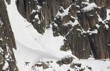Luc Alphand Visits Aurelien Ducroz's Home Mountain To Ski An...