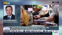 """L'actu macro-éco: """"On est dans une situation relativement confortable pour pouvoir essayer de gérer le ralentissement chinois"""", Guillaume Menuet - 11/01"""