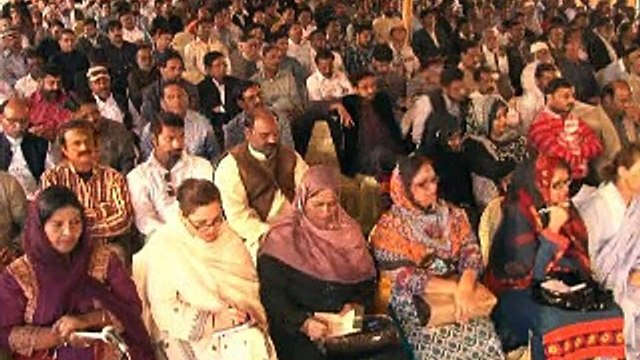 Part-1: Quaid-e-Tehreek Altaf Hussain address to Public Representatives of MQM