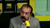 """Philippe Martinez (CGT) :  """"Les archaïques, c'est le MEDEF"""""""