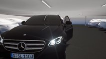 Mercedes-Benz Remote Parking Pilot (into parking space) - Animations