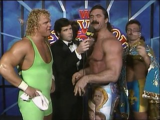 WWF Survivor Series 1989 - Team Rude Alternate Interview