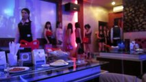 KTV night with our friends at ECHO KTV and beautiful girls   Nightlife in Phnom Penh city