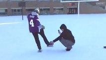 Vikings Fan Clowns Blair Walsh, Makes 27 Yard Field Goal