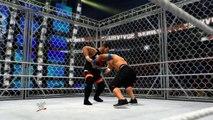 WWE 2k14 Steel Cage- John Cena vs Kevin Owens Survivor Series