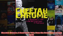 Cheetah Chrome A Dead Boys Tale From the Front Lines of Punk Rock