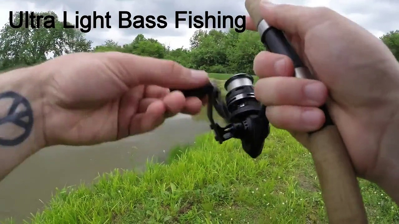 Ultra Light Bass Fishing