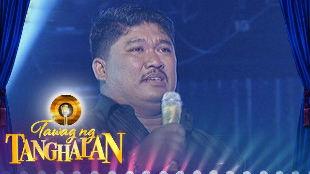 Tawag ng Tanghalan: Dominador Aviola, first Tawag ng Tanghalan's semi-finalist