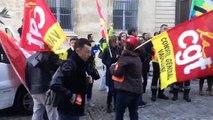 Avignon : manifestation des agents du Conseil départemental