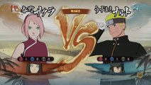 Naruto Shippuden Ultimate Ninja Storm 4 - Sakura & Hinata vs. Naruto & Sasuke
