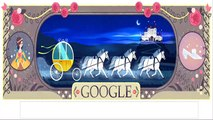Charles Perrault Google Doodle. 388th Birthday of French Fairy Tales Author