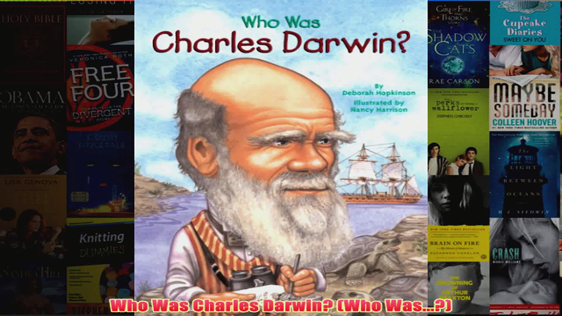 Who Was Charles Darwin Who Was