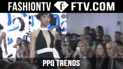 PPQ Trends London SS 16 | London Fashion Week | FTV.com