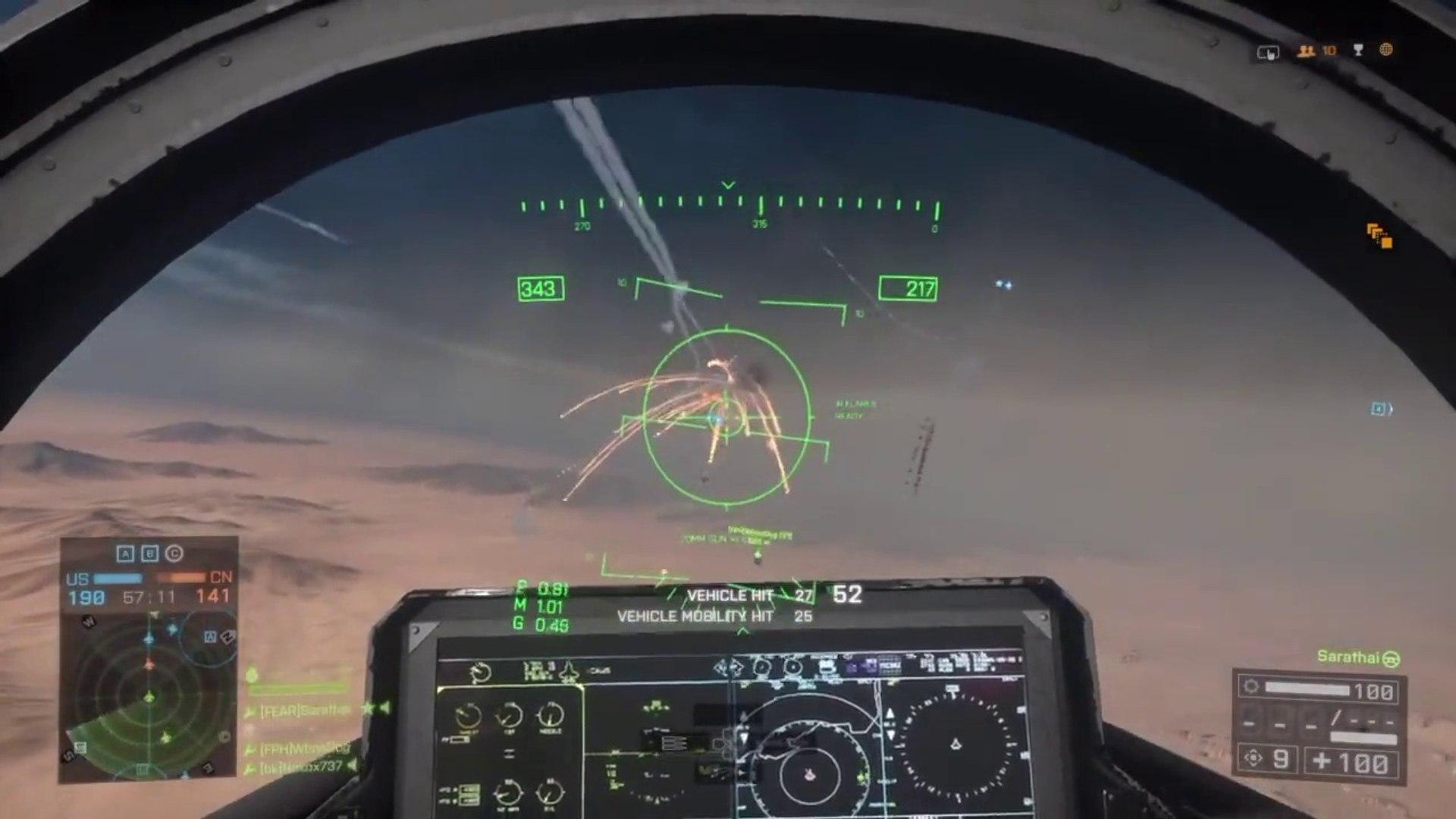 Battlefield 4 best jet pilot on PS4