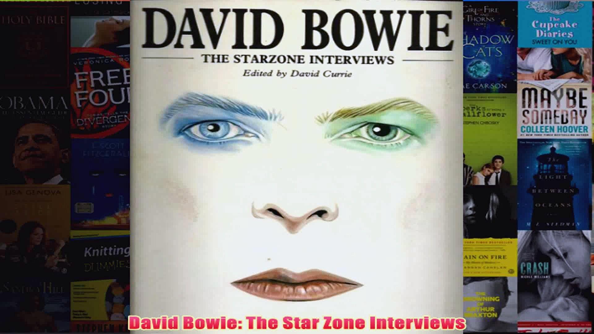 David Bowie The Star Zone Interviews
