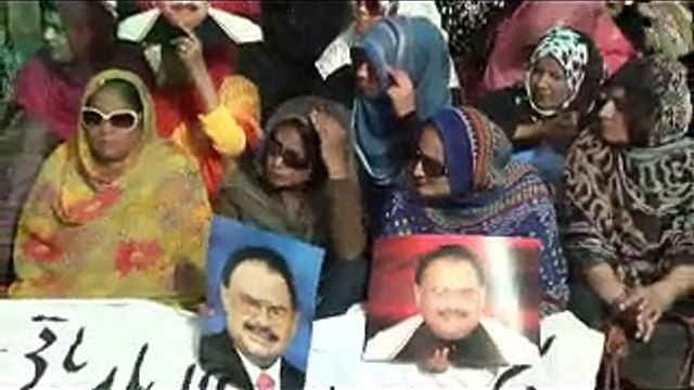 Part 1: Quaid-e-Tehreek Altaf Hussain address to MQM Protest in front of Election Commission Office in Karachi