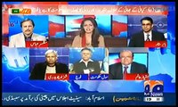 Interesting conversation between Hassan Nisar and Ayesha Baksh on whether army or civil gov initiating DHA corruption