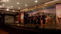 """DARB"" DANSE TRADITIONNELLE KANTOKE A CHIANG MAI (THAÏLANDE) LE 28 NOVEMBRE 2015"