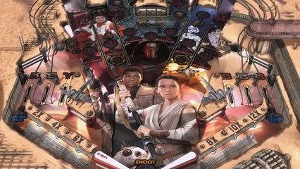 La table Star Wars VII de Star Wars Pinball : Heroes