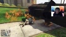 RAINING PLANES MOD! - GTA 5 Online