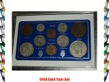 1940 GB Great Britain British Coin Birth Year Gift Set (76th Birthday Present or Wedding Anniversary)