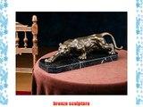 Bronze sculpture panther lion leopard bronze figure bronze sculpture antique style