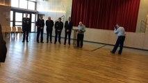 Vendin-le-Vieil : le père du gendarme Tapella, mort percuté par un chauffard, rend hommage à son fils