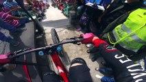 Course VTT de descente MTB Urban downhill en Colombie