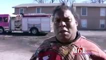 ORIGINAL CASA LINDA APARTMENT FIRE INTERVIEW ITS POPPIN, NOT TODAY MICHELLE DOBYNE