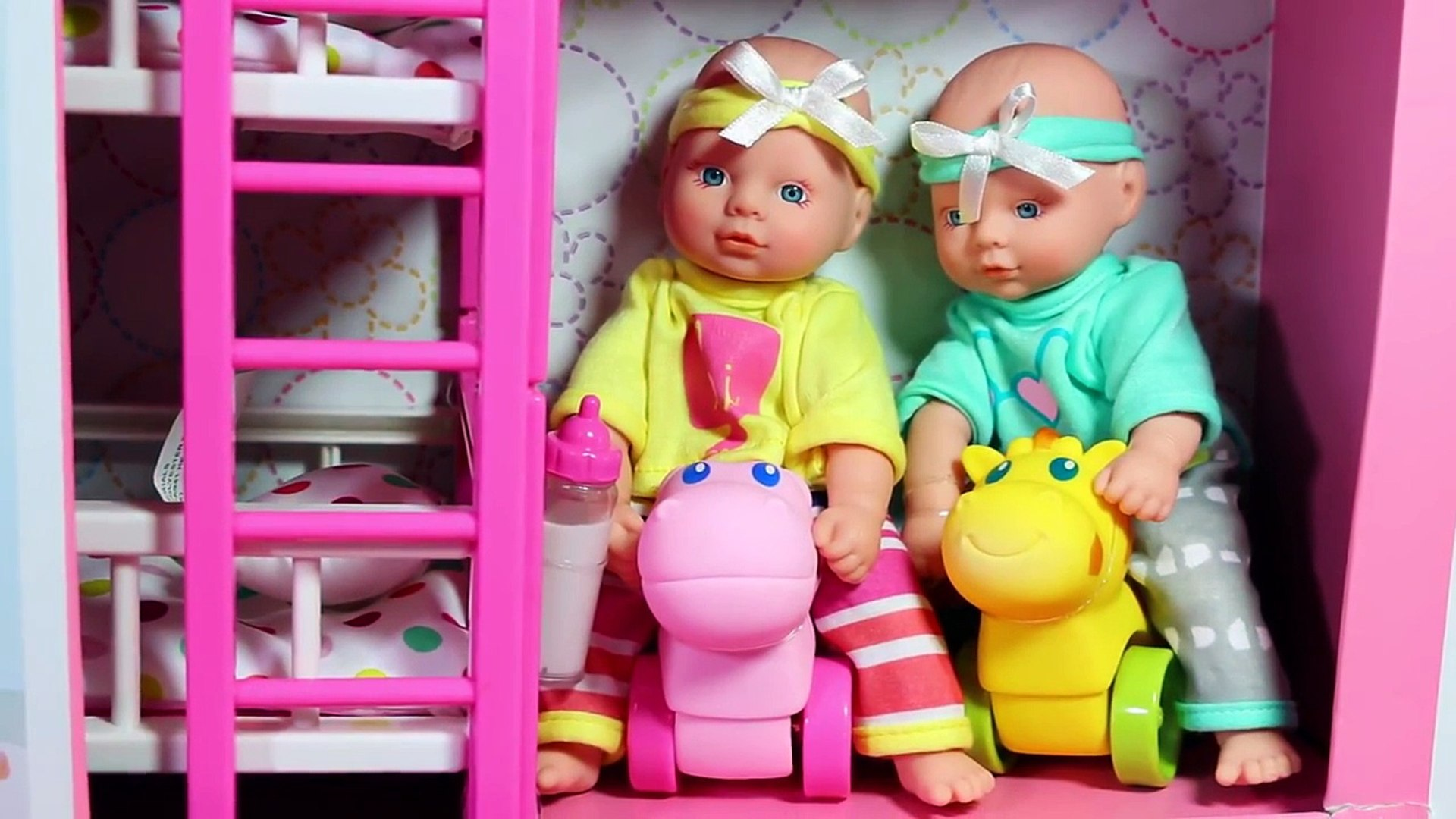 Baby Alive Bunk Beds From Kidkraft Great For Twin Dolls Or 2 Baby Alive Toddler Dolls Disn Dailymotion Video