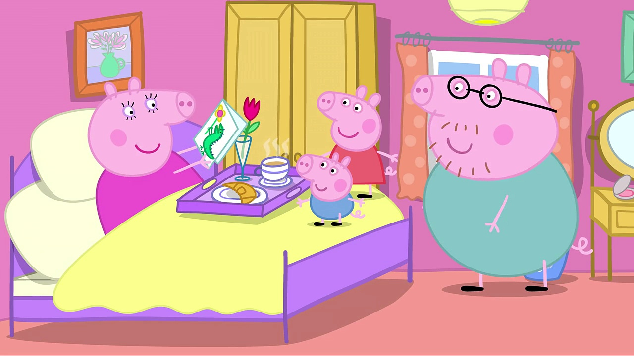 Peppa Pig-Mummy Pigs Birthday