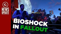 Fallout 4 Settlement Recreates BioShock Infinite's Floating City - GS News Update