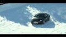 Curso de conduccion sobre nieve de Audi