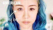 Korean Makeup vs American Makeup Before and After Transformation Tutorial Routine ♥ Wengie