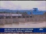 Presidente Correa inaugura obras