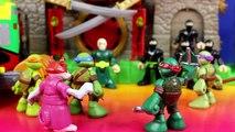 Teenage Mutant Ninja Turtles TMNT Half Shell Heroes Battle Imaginext Warriors To Save Case