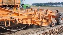 John Deere 6600 & 6800 & 6150R & selfbuild loader onion harvest