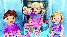 BABY ALIVE Doll Baby s New Teeth with Brushy Brushy Baby Eating & Teething Toddler DisneyCarToys