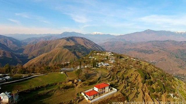 ایبٹ آباد اور مظفر آباد کے سنگم پر واقع ایک خوبصورت گاوں پٹن خُرد