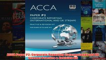 ACCA Paper P2 Corporate Reporting International and UK Stream Practice  Revision Kit