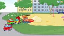 ➲ Cars Compilation Cartoons - Diggers, Trucks, Haul Truck, Bulldozers, Cars for Children