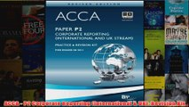 ACCA  P2 Corporate Reporting International  UK Revision Kit