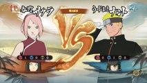 Naruto Shippuden UNS 4 - Sakura & Hinata Vs Naruto & Sasuke - The Last