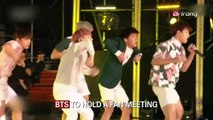 BTS TO HOLD A FAN MEETING