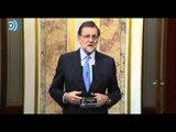 """Rajoy pide un pacto que """"dure cuatro años"""""""