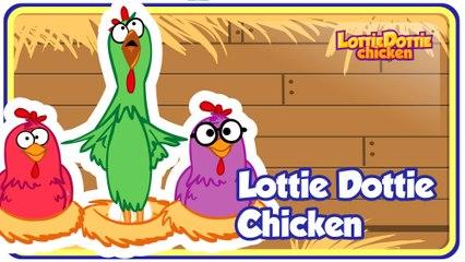LOTTIE DOTTIE CHICKEN - Gallina Pintadita's ENGLISH KIDS SONG