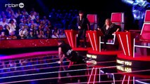 Fail : The Voice : chute du coach Quentin Mosimann
